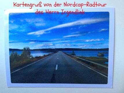 Nordkap-Radtour