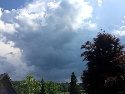 Regensommerwolke